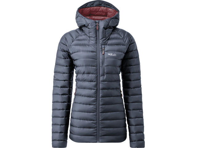 Rab Microlight Alpine Long Jacket Women, steel